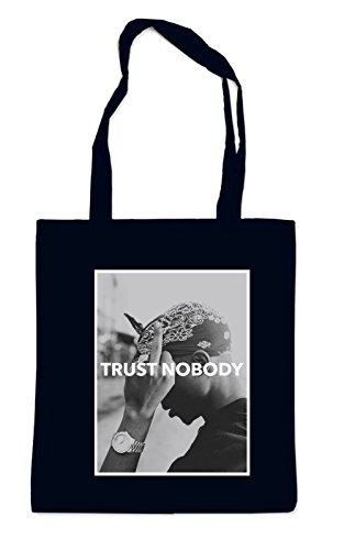 Trust Nobody Bag Black