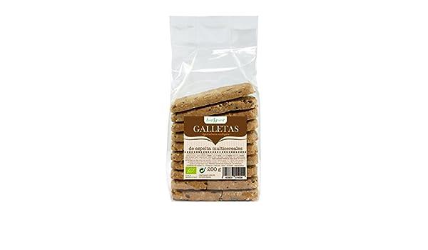Biospirit Galletas de Espelta Multicereales de Cultivo Ecológico - 200 gr: Amazon.es: Alimentación y bebidas