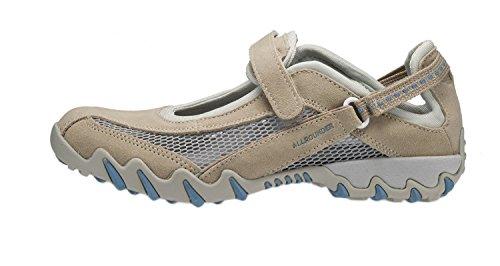 Allrounder Femmes Niro Chaussures De Sport En Daim Naturel / Maille Ouverte