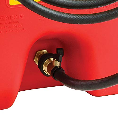 Scepter Flo N Go Duramax 14 Gallon Portable Gas Fuel Tank Container with Pump (2 Pack) by Scepter (Image #4)