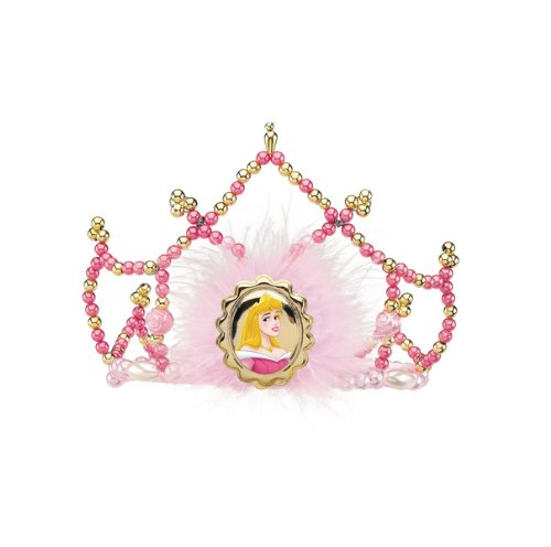 Disguise Disney Sleeping Beauty Aurora Tiara Costume Accessory, One Size Child -