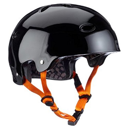 Pro-Tec B2 Skate Signature SXP Bucky Lasek Multi-Sport Helmet (Jet Black, (Lasek Skateboard Helmet)