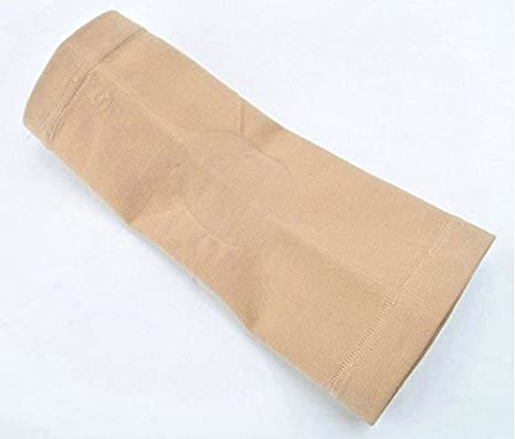 30-33CM Black//Skin Color Elbow Brace Support Tattoo Cover Up Arm Compression Sleeves for Men Women XL ,Skin