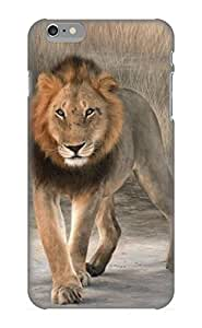 Ideal Rightcorner Case Cover For Iphone 6 Plus(African Lion Painting), Protective Stylish Case