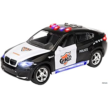 Amazon.com: Memtes Electric Police Car Toy for Kids with ...
