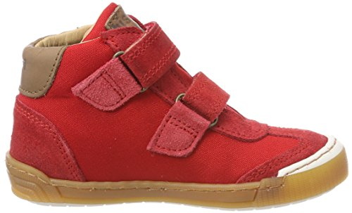 Bisgaard Klettschuhe, Zapatillas Altas Unisex Niños Rot (Red)