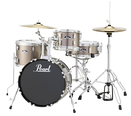 Pearl RS584CC707 Roadshow 4-Piece Drum Set, Bronze Metallic]()