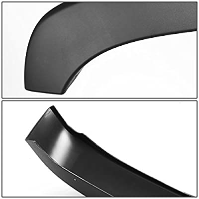 DNA MOTORING IF-10010-MBK Wheel Fender Flares, Pack of 4: Automotive