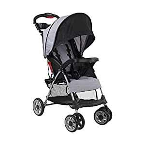 Kolcraft Cloud Plus Lightweight Easy Fold Compact Travel Stroller