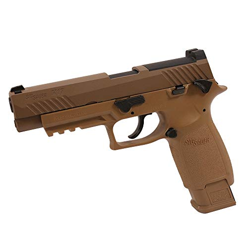 Sig Sauer M17 CO2 Air Pistol, 20 Round, Coyote