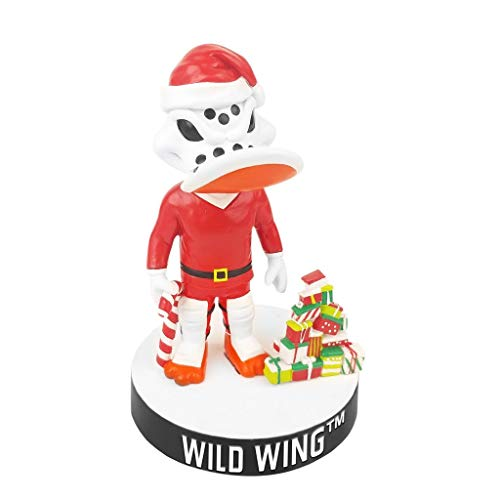 Ducks Limited Edition - Anaheim Ducks Wild Wing Christmas Bobblehead | Limited Edition & Numbered