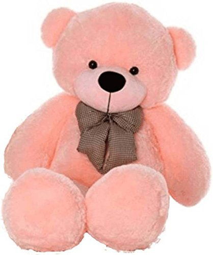 Buy HOLMES Soft Teddy Bear Birthday Gift For Girlfriend Wife Happy Toy 2 Feet Long Pink Color Online At Low Prices In India