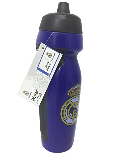 Real Madrid FC Sports Water Bottle (Blue)