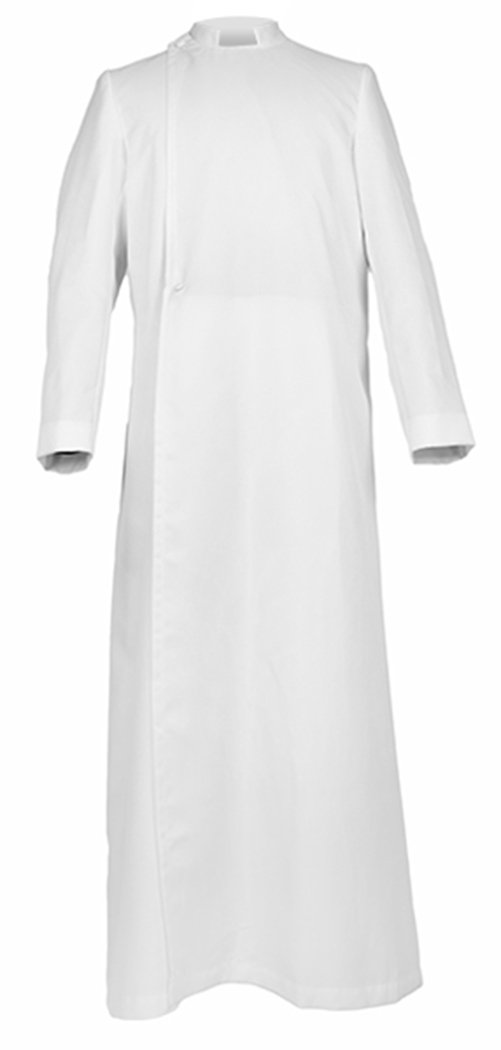 Ivyrobes Unisex Adults Pulpit(Clergy) Cassock X-Large White 54