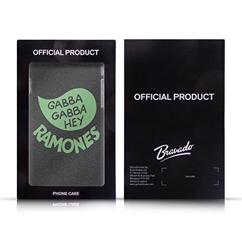 Officiel Ramones Team 76 Art Clé Étui Coque De Livre En Cuir Pour Apple iPhone 6 / 6s