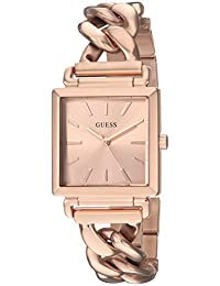 GUESS Women's Quartz Stainless Steel Casual Watch, Color:Rose Gold-Toned (Model: U1029L3)