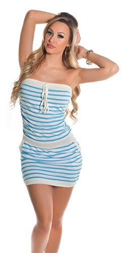 In-Stylefashion - Vestido - para mujer turquesa