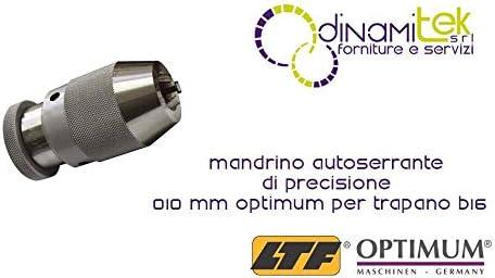 OPTIMUM Mandrino Autoserrante Di Precisione 0-16 Mm B16