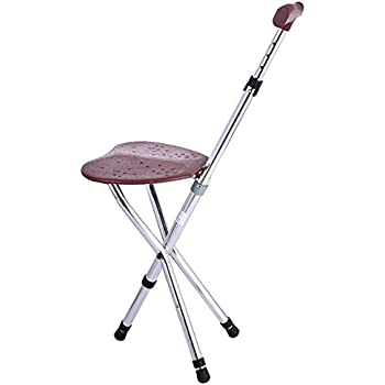 Amazon Com Cane Seat Portable Walking Chair Cane Stool
