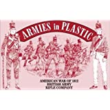 American War of 1812 British Army Rifle Company (20) 1/32 Armies in Plastic