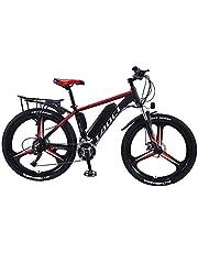 """Elektrische fietsen voor volwassenen, Magnesium Alloy ebikes Fietsen All Terrain, 26"""" 36V 350W 13Ah verwisselbare lithium-ion batterij Mountain Ebike voor Mens"""