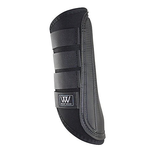 Woof Wear Single-Lock Brushing Boots, Black, - Sport Wear Brushing Boots Woof