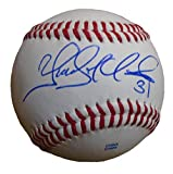 Chicago Cubs Yoervis Medina Autographed Hand Signed Baseball with Proof Photo of Signing and COA, Seattle Mariners, Philadelphia Phillies
