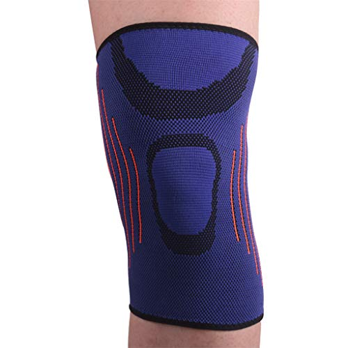 - Warm Knee Pads,CHUNKUNA Knee Support with Compression Sleeves, Suitable for Running, Jogging, Support Joint Pain and Protect Joints, Reduce Arthritis Injuries (Purple, XL)