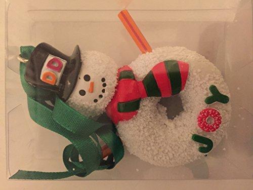 Dunkin Donuts Snowman -