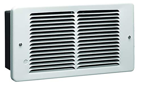 KING PAW1215-W 1500-Watt 120-Volt Pic-A-Watt Wall Heater, White,