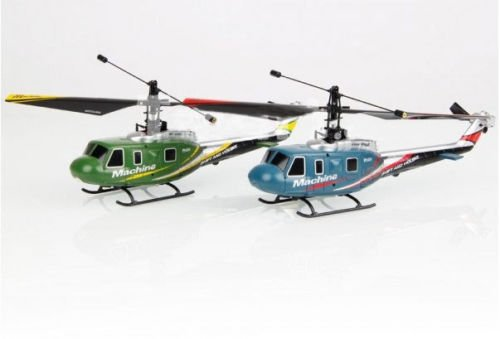 Great Wall 9968 4 Channel Channel Channel 2.4GHz Remote Control RC Helicopter Grün 3533d2