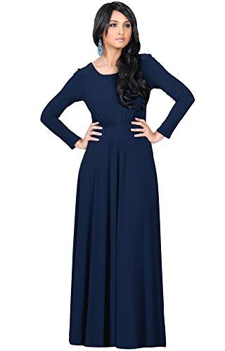 full length long sleeve dress - 4
