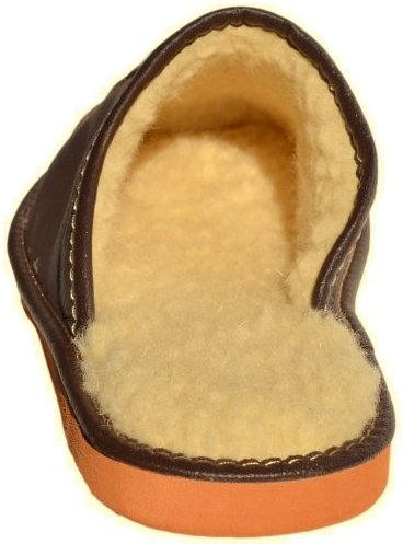 100 lining wool Bosaco pure Slippers wFqxg51