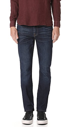 7 For All Mankind Men's Slimmy Air Weft Jeans, Commotion, (Seven For All Mankind Lightweight Jeans)