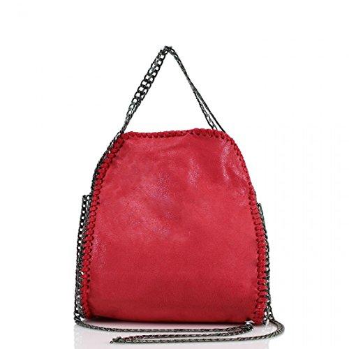 YDezire® - Bolso para mujer, diseño con cadena Red