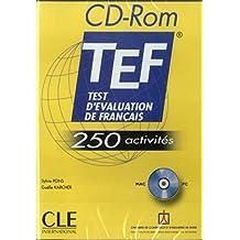 Test d'évaluation de français - TEF - CD-ROM: 250 activités (MAC et PC)