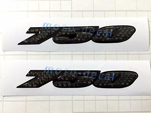 Decal Story 3D Real Carbon Fiber Emblem Sticker Decal Raise Up Polish Gloss For Suzuki GSXR - Suzuki Carbon Fiber
