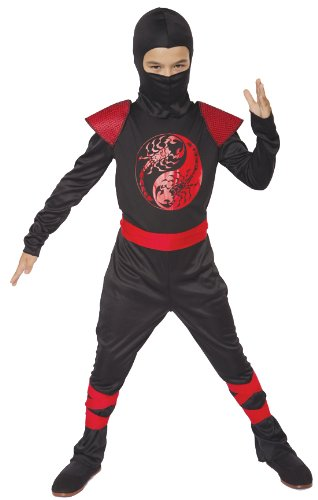 Scorpion Ninja Costumes (Paper Magic Group Scorpion Ninja - Large 10-12)