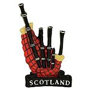 Scottish Bagpipe Fridge Magnet
