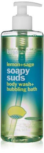 bliss Soapy Suds, Lemon + Sage, 16 fl. oz.