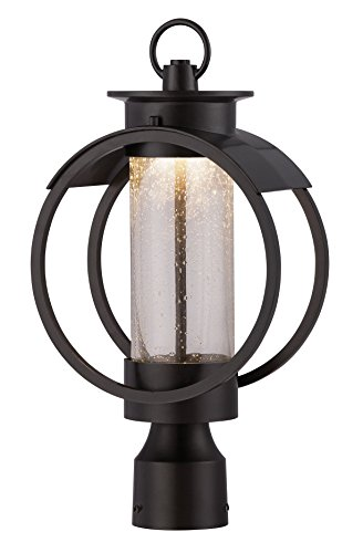 Designers Fountain LED32826-BNB Arbor 9 Inch Led Post Lantern