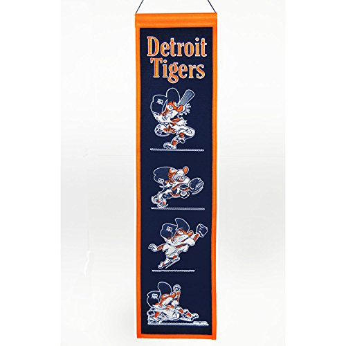 Winning Streak MLB Detroit Tigers Fan Favorite Banner, One Size, Multicolor