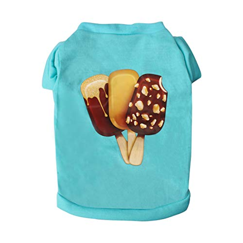 uxcell Dog T Shirts Cotton Costume Cat Pet Sweatshirt Tops Clothing Vest Puppy Spring/Summer/Fall Cool Clothes Apparel…