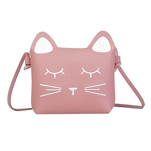 Bags us Kids Purse Cute Cat Crossbody Bag Girls Coin Wallet Mini Shoulder Satchel?Handbags