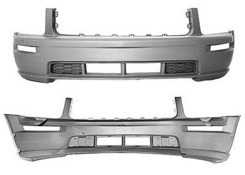 Crash Parts Plus Front Bumper Cover for 2005-2009 Ford Mustang