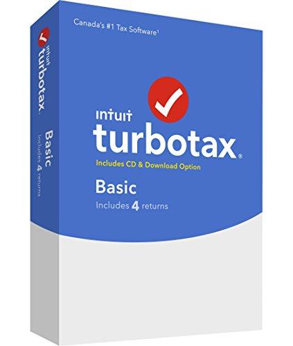 TurboTax, Basic 2019, 4 returns