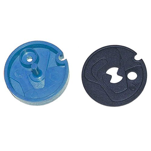 Ecodyne 7114533 Water Softener Nozzle and Venturi Gasket Kit Genuine Original Equipment Manufacturer (OEM) Part Blue and Black