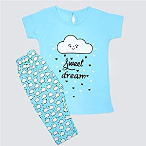 The Boo Boo Club Cotton Baby Girls Night Suit/Night Wear/Night Dress
