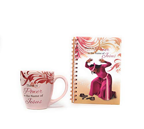 Mug African American (African American Expressions Coffee Mug and Journal Christian Gift Set Bundle (Pink))