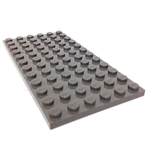 Lego Parts: Plate 6 x 12 (Older Version - Dark (Lego Black Plates)